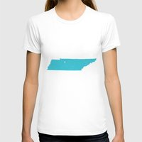 tennessee T-shirts featuring Tennessee by Hunter Ellenbarger