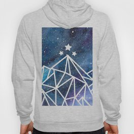 Watercolor galaxy Night Court - ACOTAR inspired Hoody