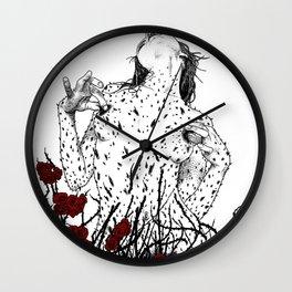 asc 428 - La reine des épines (Queen of pain) Wall Clock