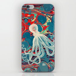 Vintage Octopus iPhone Skin