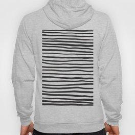 brushstroke stripes Hoody