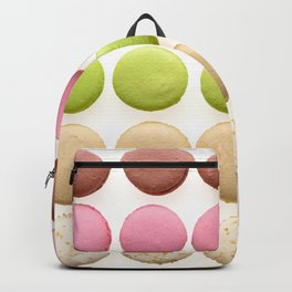 Multicolored macarons Backpack