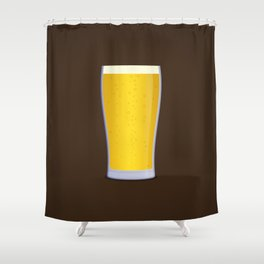 Lager Shower Curtain
