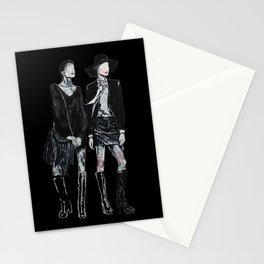 Fashion illustra Stationery Cards