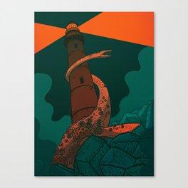 The Fog Horn Canvas Print