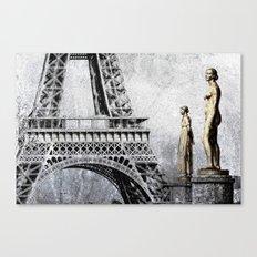 femmes parisienne Canvas Print