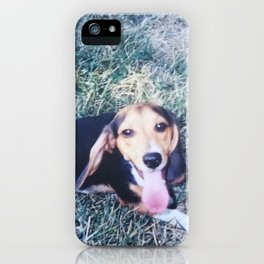 Beagle Baby iPhone Case