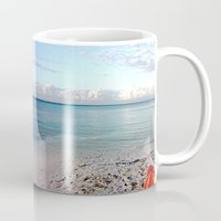 honda Mugs featuring Bahia Honda by Ellen Turner
