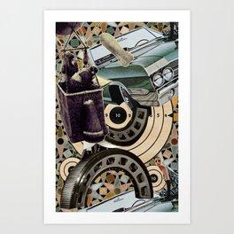 Bombs, Buggies, and Bearings Art Print