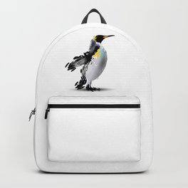 Abstract illustration of a penguin Backpack