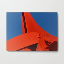 "Calder's ""Eagle"" in the sun Metal Print"