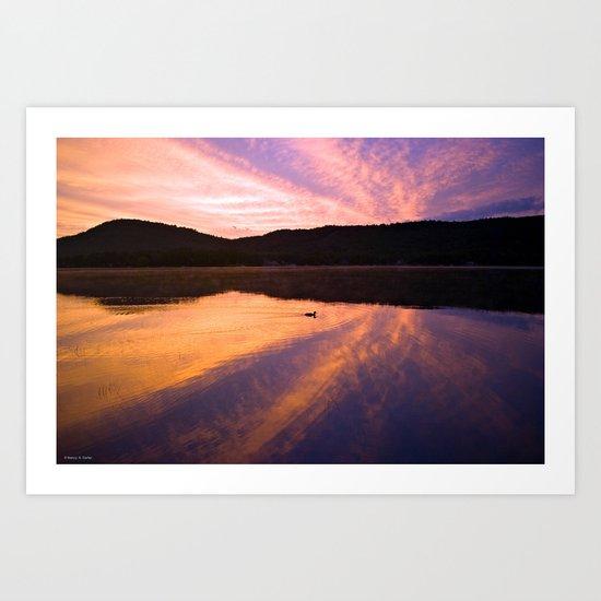 Seek Serenity Art Print