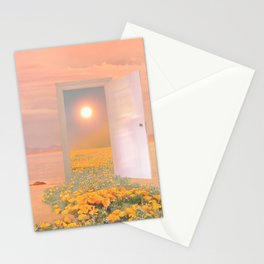 A new door Stationery Cards