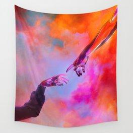 La Création d'Adam - Dorian Legret x AEFORIA Wall Tapestry