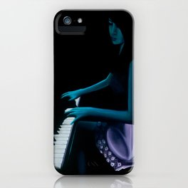 "‎""Silhouette cast from the depths""  iPhone Case"