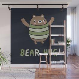 Bear Hug Wall Mural