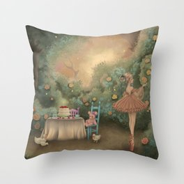 Flowers for the Table Throw Pillow
