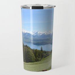 Lake Thun Bernese Oberland Switzerland Travel Mug