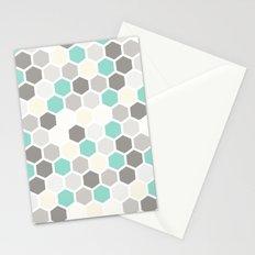 Geometric one Stationery Cards
