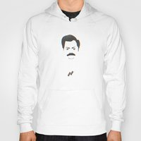 swanson Hoodies featuring Swanson by Dabwood2