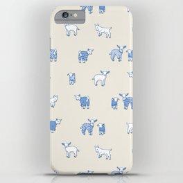 Goat Pajama Party iPhone Case