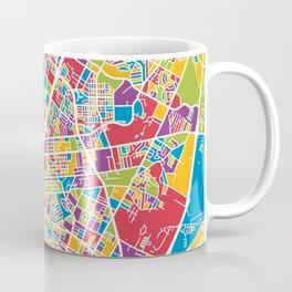 Austin Texas City Map Coffee Mug