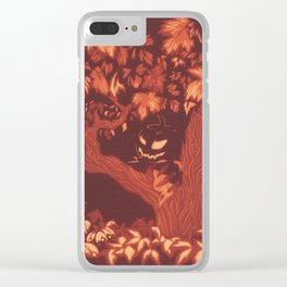 Fall Terrors Clear iPhone Case