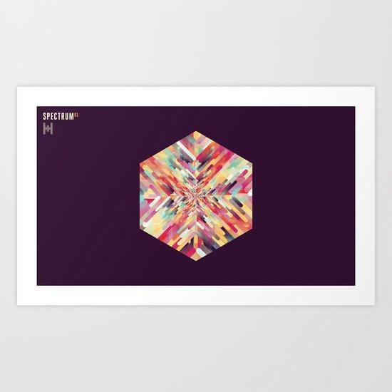 SPECTRUM 01 Art Print