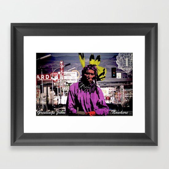 Indian Pop 99 Framed Art Print
