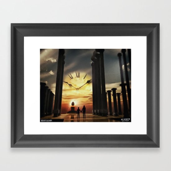 Until The End Of Time Framed Art Print