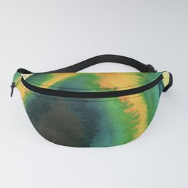 Angry Avocado Abstract Fanny Pack