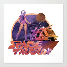 Space Truckin' Canvas Print