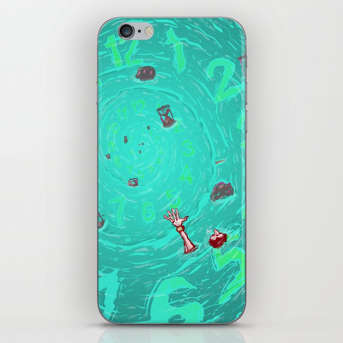 Drown in the now iPhone Skin