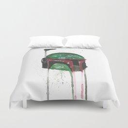 Boba Fett - Empty Mask Duvet Cover