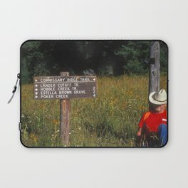 Wyoming Time Out Laptop Sleeve