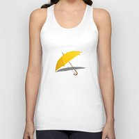himym Tank Tops featuring HIMYM - The Yellow Umbrella by George Hatzis