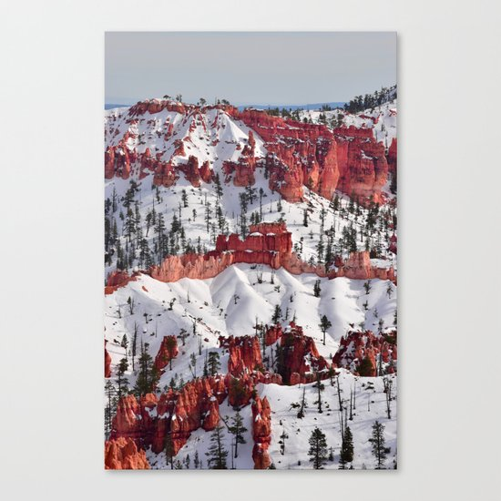 Bryce Canyon - Sunset Point III Canvas Print