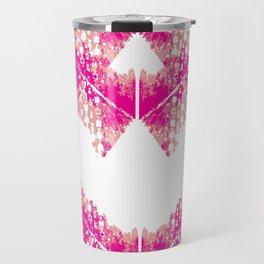 Bright urban texture pattern Travel Mug