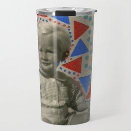 Blue Spring Travel Mug