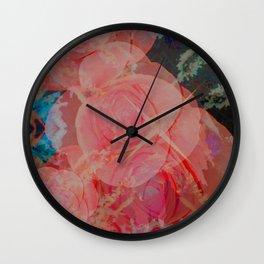 Rose - Psychotropical Wall Clock