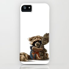 Rocket and Groot iPhone (5, 5s) Slim Case