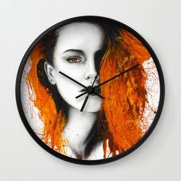 Heated Heart Wall Clock
