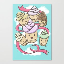 Light and Creamy Canvas Print