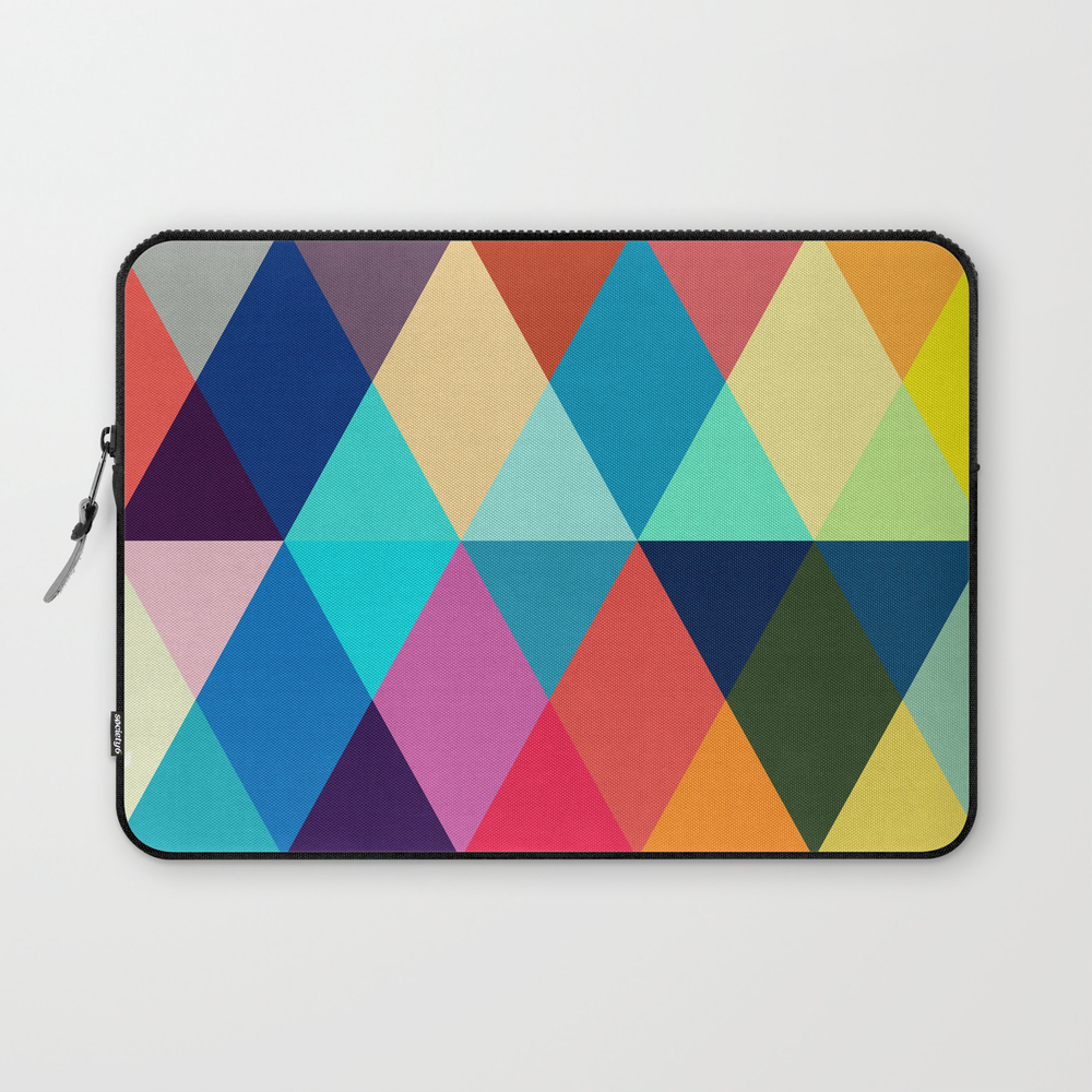 Vibrant Composition Iii Laptop Sleeve LSV8464122