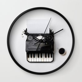 On a musical note Wall Clock