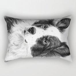 Dog Portrait 02 Rectangular Pillow