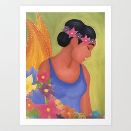 Fairy Princess Art Print