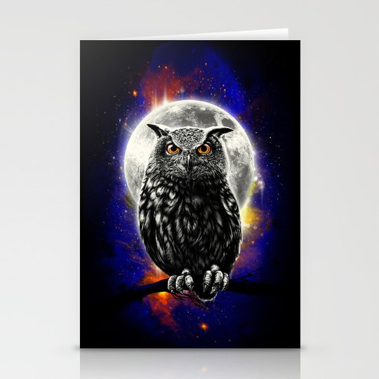 'The Watcher' Stationery Cards