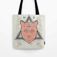 Fox illustration Tote Bag