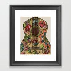 The Guitar  Framed Art Print
